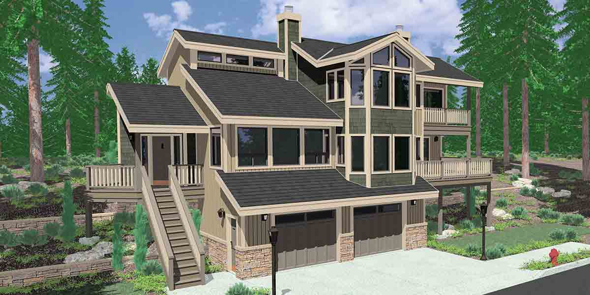 360 degree 3D View House Plans Our 360 degree view house plans - 3d house plans