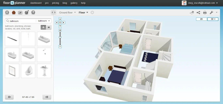 Homestyler Floor Plan Beta Aerial Amazing Autodesk Floor