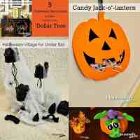 5 Halloween Decorations from the Dollar Store - Housewife ...
