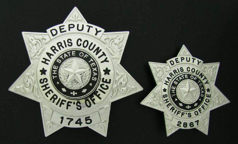 Custom and wallet size badge police and deputy badges