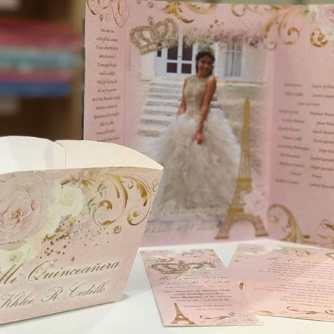 Find the most original quinceanera invitations in Houston TX! 15