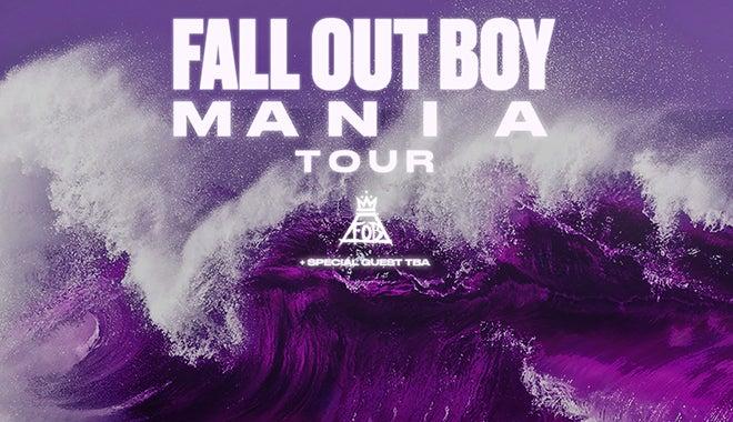 Mania Album Cover Fall Out Boy Desktop Wallpaper Houston Toyota Center
