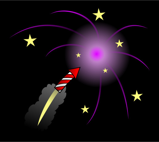 Free Animated Wallpaper Software Drawing Cartoon Fireworks