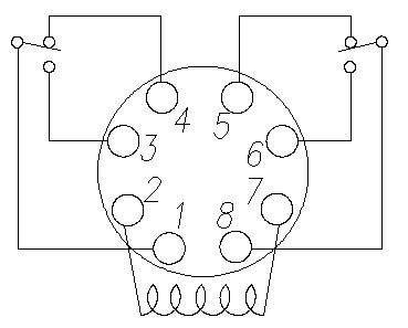 wiring diagram of 8 pin relay