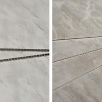 Dark Grey Marble & Light Grey Marble Cladding Bathroom ...