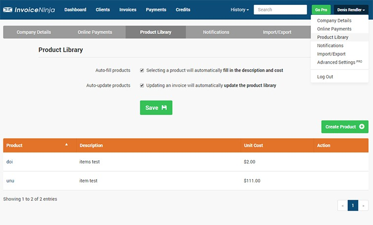 9 open source billing and invoice generating applications - how2shout, Invoice templates
