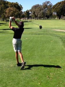 Holding The Finish - Golf Max
