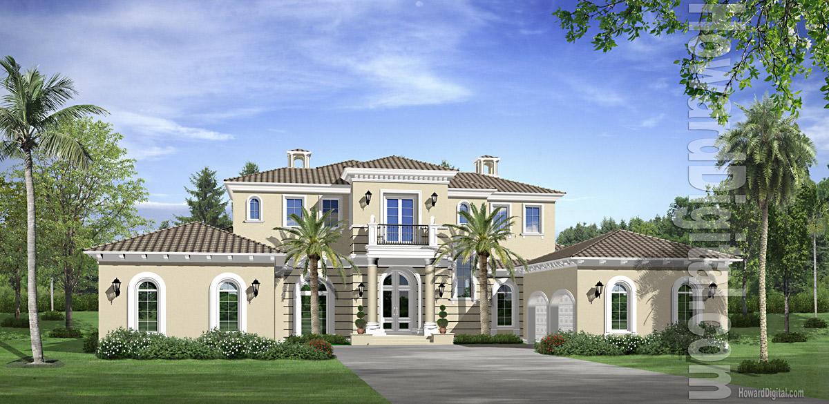 House Rendering Gallery by Howard Digital - Premium House ...