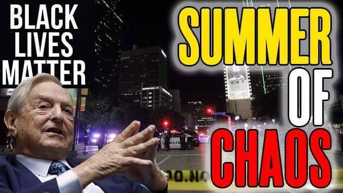 BLACK LIVES MATTER SUMMER OF CHAOS