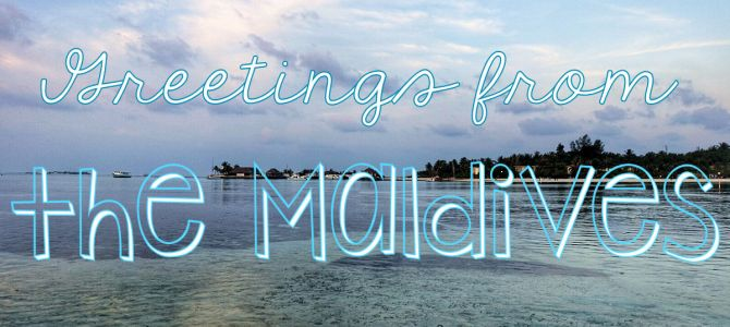 Greetings from the Maldives – Digital Postcard Delivery