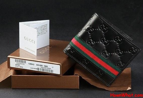 Authentic Gucci Men Wallet