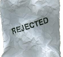 sample job refusal rejection letter