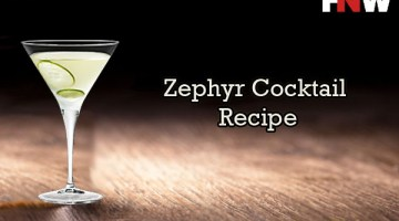 Zephyr Cocktail Recipe