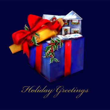 Merry Christmas Greeting Letter to Customers