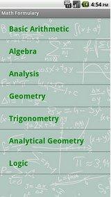 math formulary app -1