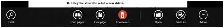 windows reader toolbar