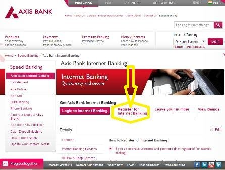 axis-bank-netbanking-website-register