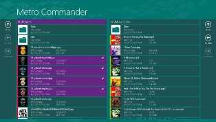 metro commander windows 8 app for surface