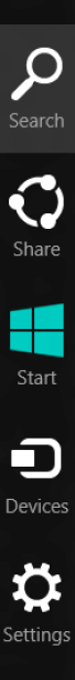 windows 8 search option