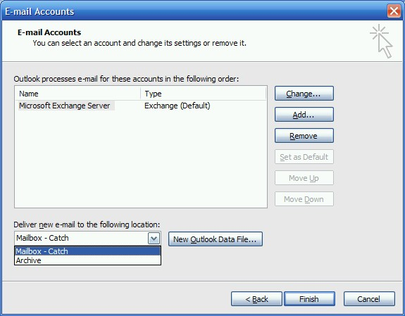 Adding/Recreating a Mail Profile - HowTo-Outlook - create outlook account