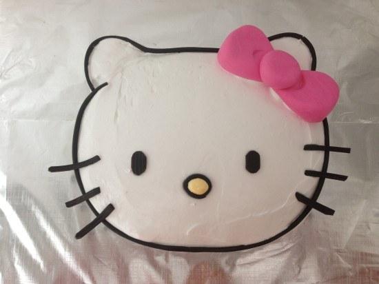 HowToCookThat  Cakes, Dessert  Chocolate Hello Kitty Cake