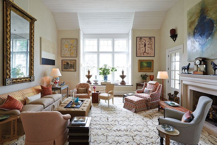 Southern Living Idea House in Charlottesville, VA - How To Decorate - southern living living rooms