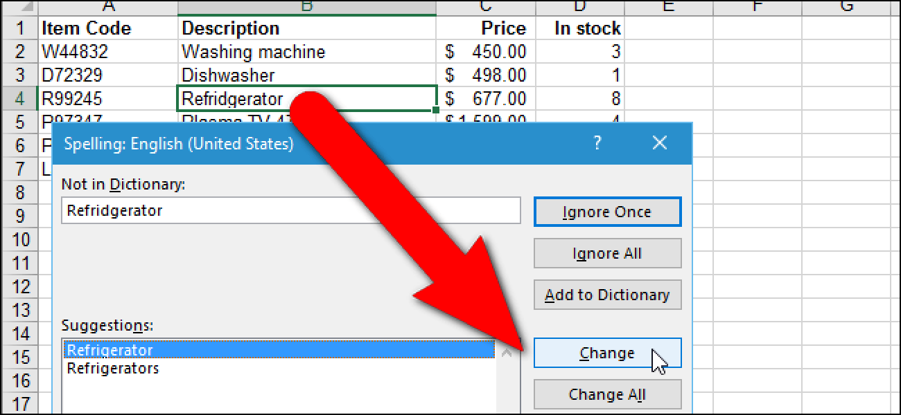 How To Spell Check Worksheets In Excel