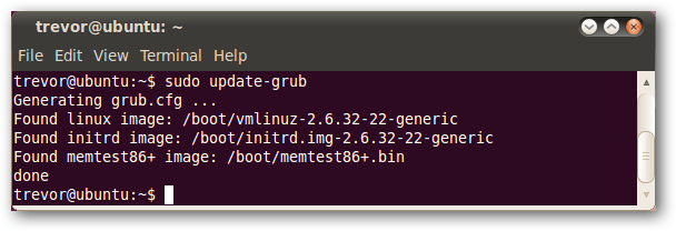Clean Up The New Ubuntu Grub2 Boot Menu