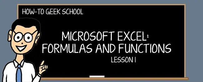 Excel Formulas Why Do You Need Formulas and Functions?