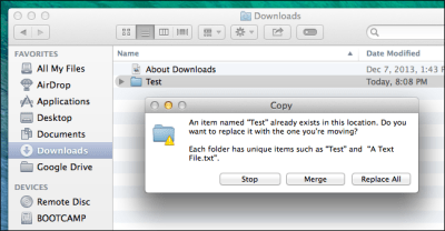 How to Merge Folders on Mac OS X Without Losing All Your Files (Seriously)