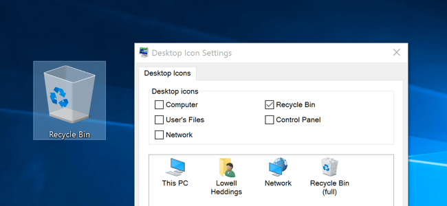 How To Hide Or Delete The Recycle Bin Icon In Windows 7 8