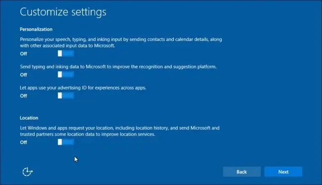 What\u0027s the Difference Between Windows 10\u0027s Express or Custom Setup?