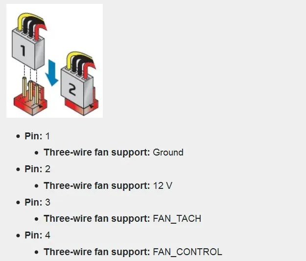 4 Pin Pc Fan Wiring Diagram Control Cables  Wiring Diagram