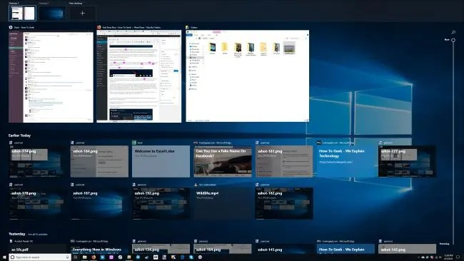 What is Windows 10\u0027s Timeline, and How Do I Use It? - timeline windows