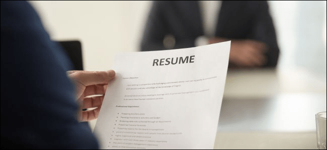 How to Create a Professional Résumé in Microsoft Word