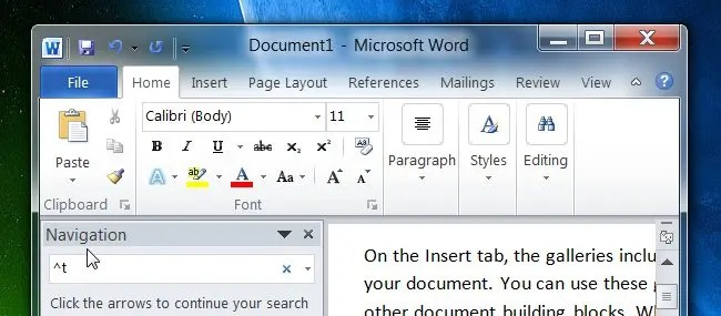 How to Search for Line Breaks, Tabs, and Special Characters in MS Word - ms word user manual