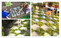 Easy Fun Garden Ideas Photograph | Garden Games For Kids - 3