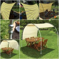 DIY Adjustable Outdoor Canopy | How To Instructions