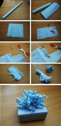 How To Make Curly Bows For Gift Wrapping | How To Instructions