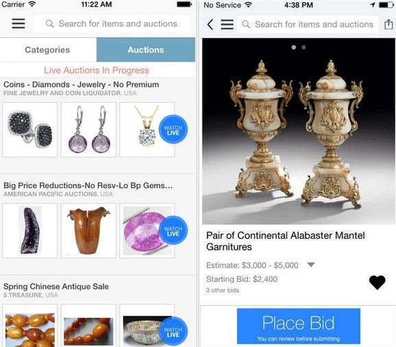 Best Live Auction apps for iPhone and iPad 2019 Live Bidding
