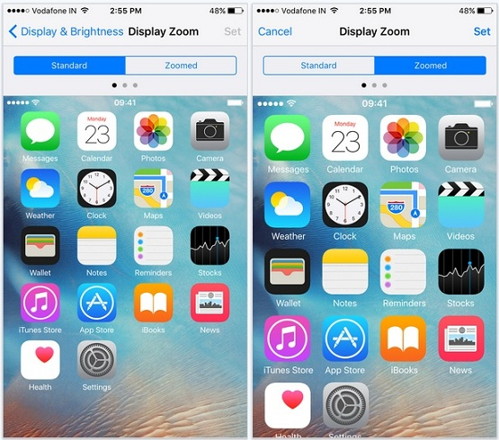 Lock Screen Wallpaper Iphone 4s Change Text Size And Style In Ios 9 Iphone Ipad Ipod Touch