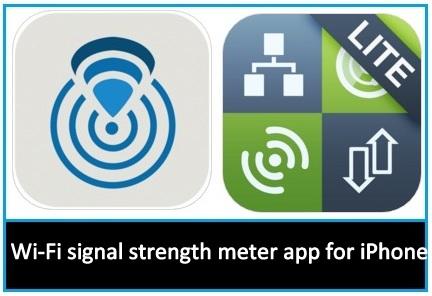 5+ Best WiFi Signal Strength Meter App for iPhone, iPad Air, Mini