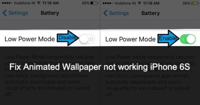 Fix Animated Wallpaper not working on iPhone 6S/7 Plus [How to]