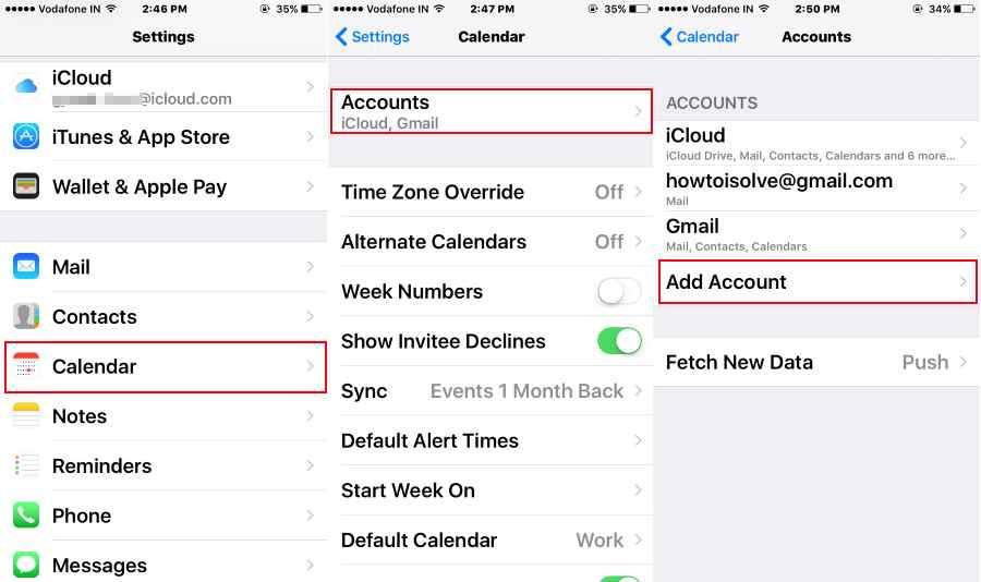 Add UK/ USA Holiday On iPhone Calendar iOS 12, 10, iOS 11 For Any