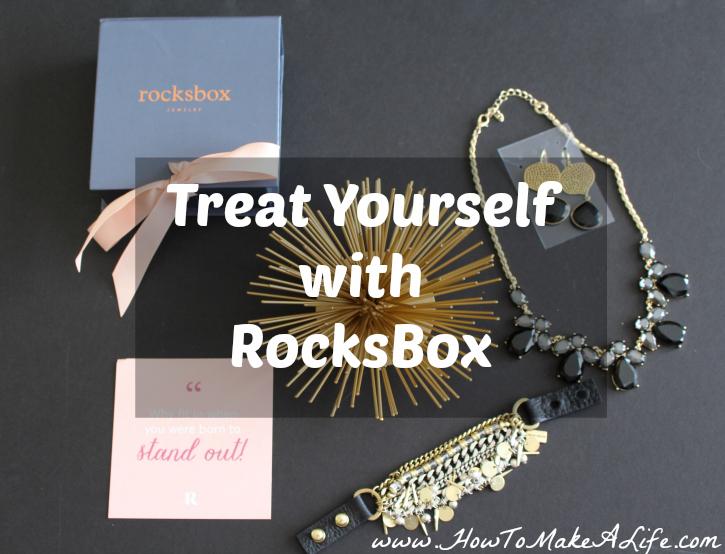 Treat Yourself With Rocksbox