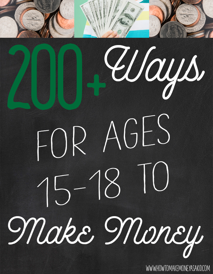 how to make money fast at 18