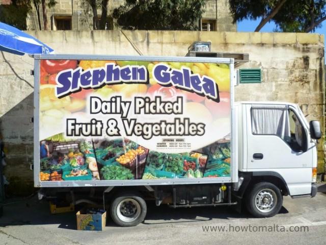 Fruit & Vegetable Van, Malta