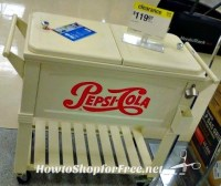 Pepsi Patio Cooler | How to Shop For Free with Kathy Spencer