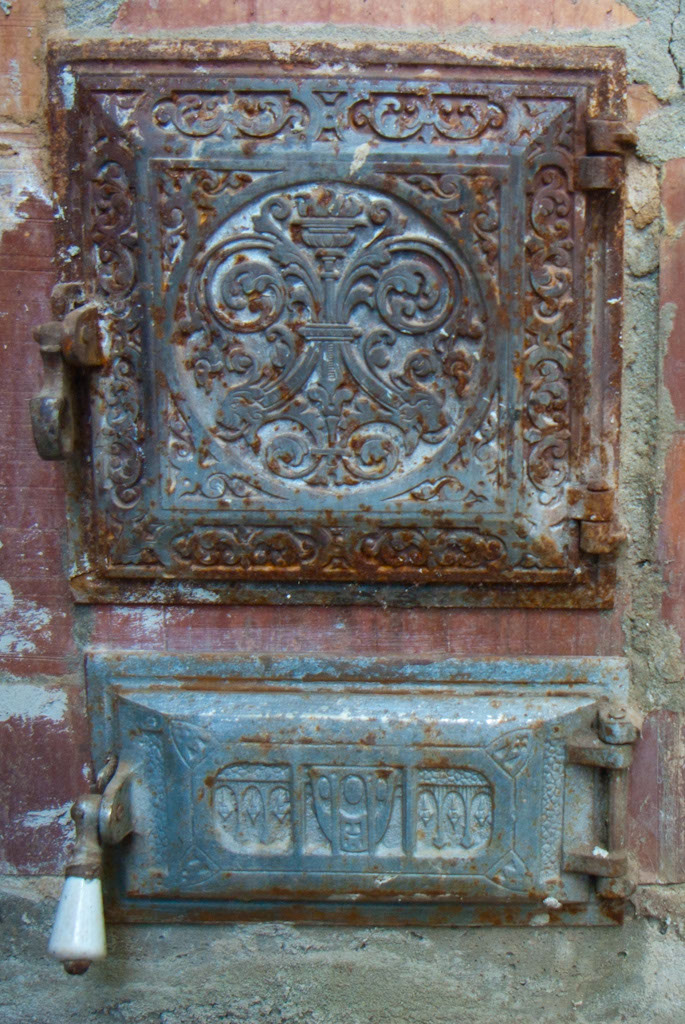 How To Restore A Rusted Cast Iron Stove Door