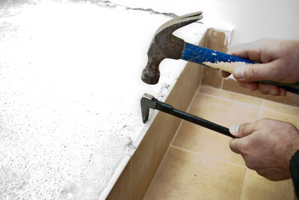 How To Remove Wall Tile | Howtospecialist - How To Build, Step By